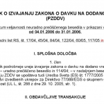 Spremembe v ZDDV-1 od 1.7.2016 dalje